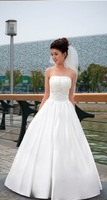 Wholesale - Surprise! +gift!2014 new bowknot quality wedding dresses
