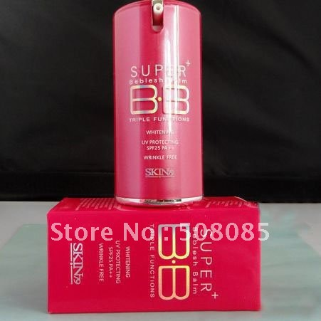 Free Shipping S-K79 Triple Effect Concealer Red BB Cream Pink(China (Mainland))
