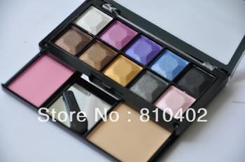 Free shipping Blusher + Concealer Palette Set wholesale makeup kit , makeup powder