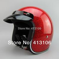 Free shipping/Motorcycle helmet/ Fiberglass material retro helmet/Top level open face helmet