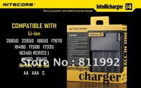 SYSMAX Ind. Nitecore Intellicharge i4 Microcomputer Controlled Intelligent Charger Li-ion/NiMH Battery Charger