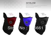 Free Shipping 3pcs/lot New Bike Motorcycle Ski Snowboard Sport Neck Warmer half Face Mask Neck Warmer Scarf