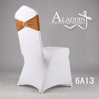 High quality wedding Spandex chair band with buckle/lycra  spandex sash/Lycra chair band with buckle/chair sash for chair cover