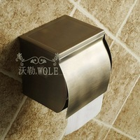 Stainless Steel 304 Toilet Paper Roll Holder Rack Bathroom Accessories Antique Finish