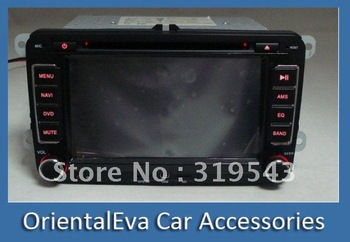 2012 New Built In GPS Canbus 7 inch in dash 2 din Car DVD Player for Volkswagen VW Passat PIP IPOD RDS Radio Audio Video TV