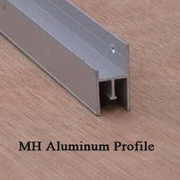 50m/bag MH Aluminum profile for stretch ceilings installation accessories