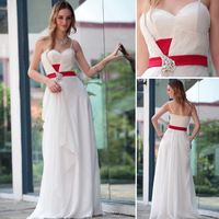 DORISQUEEN Freeshipping 2014 new arrive A-line sweetheart formal spaghetti strap open back zuhair murad long prom dresses