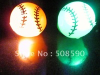 Free Shipping 576pcs/lot 3*4CM basketball ring soft gum TPR flashing ring  for Christmas