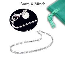 silver ball chain price