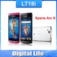 LT18  Oiginal Sony Ericsson Xperia Arc S LT18i  Android GPS WIFI 8MP Unlocked Mobile Phone