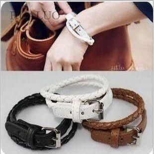 Fashion Bracelets Leather Bracelets Wrap Women Bracelets Wholesale(China (Mainland))