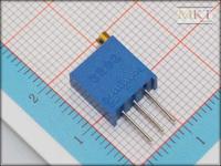 Wholesale (100Pcs/lot) 3296W-101 100 Ohm B-Type Linear Precision Cermet Rotary Trimmer Potentiometer Knob,Variable Resistor