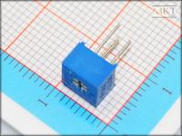 Wholesale (100Pcs/lot) 3362P-502 5K Ohm B-Type Linear Precision Cermet Rotary Trimmer Potentiometer Knob,Variable Resistor
