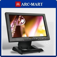 10.1&amp;quot; LCD Monitor 1920 x 1080 +Adapter+Remote For Full HD Video Camera CCTV Monitor 10pcs/lot #CP003