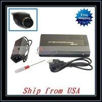 """Free Shipping + Wholesale 5pcs/lot 3.5"""" Black USB 2.0 SATA HD Hard Drive HDD Enclosure Case Ship from USA-NTS04BL"""
