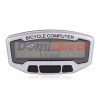 Digital LCD Backlight Bicycle Computer Odometer SD-558A Clock Stopwatch Bike Speedometer SD558A