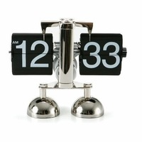 High Quality Digital Flip Down Clock & Promotional Antique Gift Clock & Desk Clock