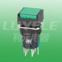 micro illuminated pushbutton switches 16MM  momentary