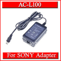 Free Shipping AC Power Adapter Charger For Sony AC-L100 AC-L10 AC-L10A AC-L10B AC-L15 AC-L15A