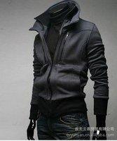 new 2014 desigual designer spring winter jackets men slim fit hoodies korean style long sleeve baseball sport suit men Wholesale