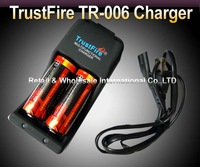 Trustfire Li-ion 26650 3.7v 5000mAh Rechargeable Battery Multifunctional 26650 charger+2* 26650 battery 1*charger