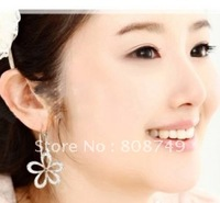 10PAIRS/LOT HOT SALE AND FASHION EXQUISITE FULL  HOLLOW OUT FLOWERS EARRINGS/JEWELRY