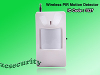 Free shipping wireless PIR infrared sensors for alarm system ,RF distance over 100m IC code 1527