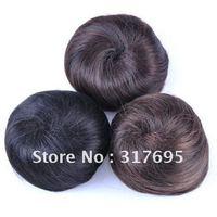 Free Shipping Wholesale 2013 New Arrival High Temperature Fiber Synthetic Hair Chignon Hair Bun Synthetic Hair Extension