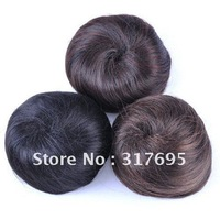Free Shipping Wholesale 2013 New Arrival High Temperature Fiber Synthetic Hair Chignon Hair Bun Synthetic Hair Extension