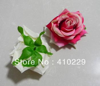 8 colors DIY Rose Head ,Artificial Flowers,Ornaments 20pcs/Lot AF189