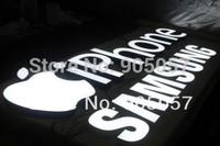 Brightness led resin channel letter indoor sign