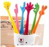 free shipping Korea stationery Flexible finger balloint pen cartoon pen 24pcs/lot lovely gift