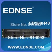 EDNSE 2U hot-swap server chassisss rackmount ED208H48 8*3.5/2.5 inch HDD bays