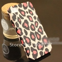2013 Hot Sales Leopard Picture Protective Hard Case For iPhone 4/4S Whole Sale 5pcs/Lot Free Shipping