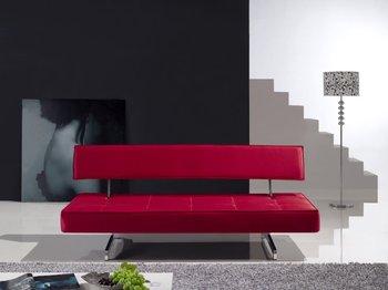 Imitation silk and metal frame folding Beautiful practical fashion&modern design sofa bed-best price-DA-98
