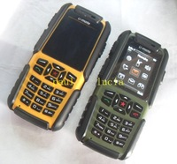 Free Shipping Real Waterproof Dustproof A81 U-mate Outdoor Mobile Phone Russian Keyboard Available