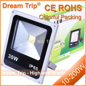 Hot Sale IP65 LED Flood Light Waterproof 10W 20W 30W 50W 70W 100W Warm White / White/ RGB Outdoor LED Floodlight  Lamp
