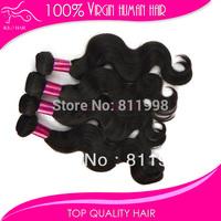 top quality 100 percent aaaa brazilian body wave human hair weaving