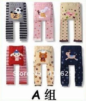 Promotion!!Free shipping!Toddler Boys Girls Baby Legging Tights Leg Warmer Socks Pants PP Pants 18PCS