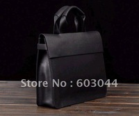 FREE SHIPPING(1PC) FASHION MAN BREIFCASE IN GENUINE COW LEATHER+MAN SHOULDER BAG+MAN MESSENGER BAG+BRAND MAN HANDBAG 999-2