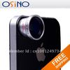 Superb Wholesale Cheapest $3.69 free shipping 0.67X Wide Angle + Macro Lens for ipad iPhone 4S iPod Phone lens