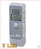 new arrival mini Alcohol Breath Tester Breathalyzer with Flashlight LED indicators key ring free shipping