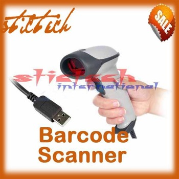 by dhl or ems 30 pieces USB scaner laser barcode scanner bar code reader barcode reader laser laser scanner #8387