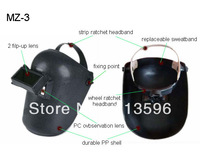 Freeshipping  PP Economic Price Flip-up Lens Safety Industrial Welding Helmet   MZ-3