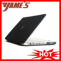Black Rubberized Back Case Cover Housing For Mac Book Pro 15 inches