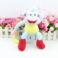 Free Shipping  BOOTS  Dora the Explorer The Monkey Plush Dolls Soft Toy Dora Doll Plush Best Kids Gift 25cm