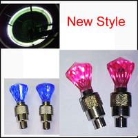 New Style 20PCS Car Led Wheel Lights Flash LED Lights Bike Motorcycles Wheel Lights Tire Valve Cap Safety  Light #D115A