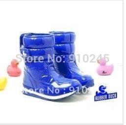 Hot sale fashion brand women's winter 6 color RUBBER DUCK snow boots Warm waterproof snow shoes size:35---40