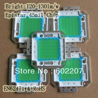 Aliexpress Free Shipping,6pcs/lot SuperBrightness Square 13000lm Epistar 45mil Power LED 100W COB Module Emitter Chip