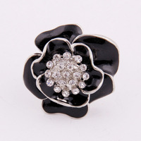 Min order is 20 $(Mixed order)Popular The rose   ring  Free shipping  South Korea fair maiden style